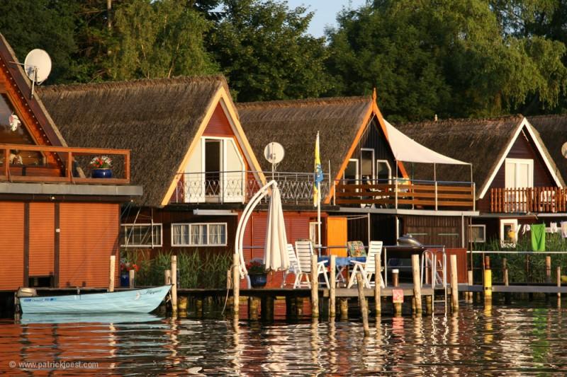 Boat Houses at Schwerin Lake
