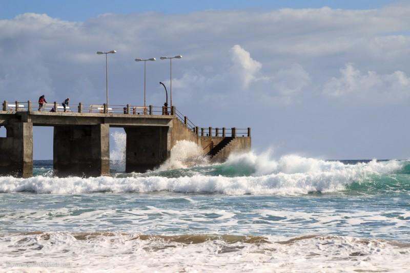 Waves at Ilha do Porto Santo