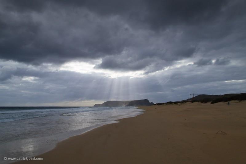 Heavy Atlantic Weather at Ilha do Porto Santo