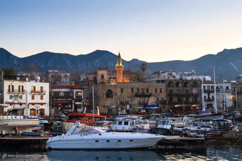 Historic Harbor of Kyrenia (Girne)