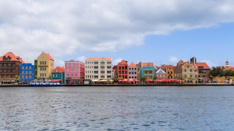 Willemstad Harbor is an UNESCO world heritage site