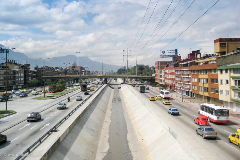 Avenida NQS in Bogotá