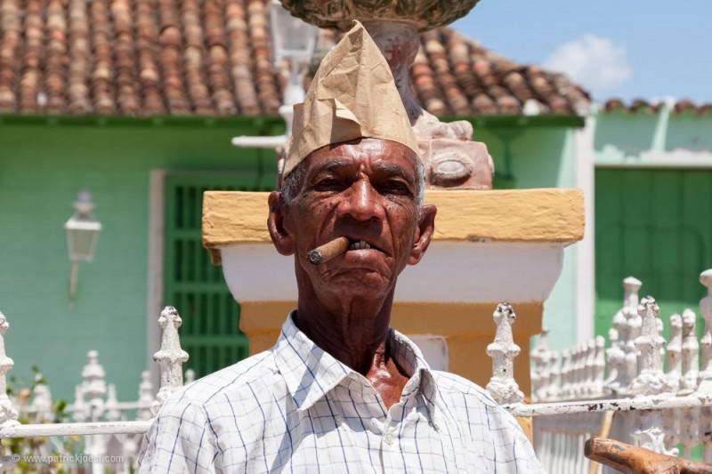 Smoking Man in Cuba