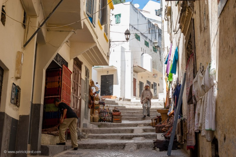Tangier Street Scene