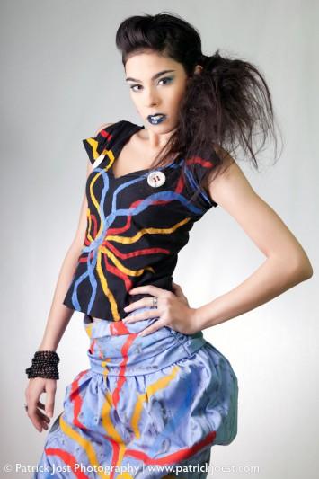 Fashion Collection of Designer Meritxell Gonzalez