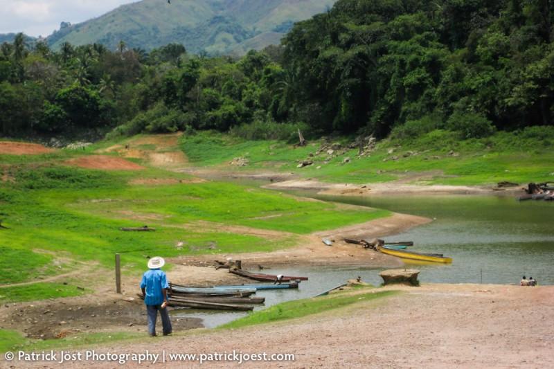 Indian river port in Colon (Panama)