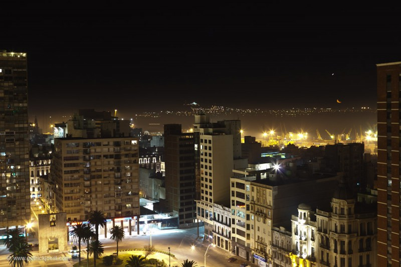 Montevideo by Night