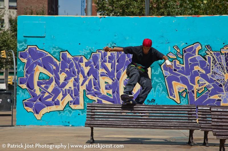 Skateboarder Raul Escalante