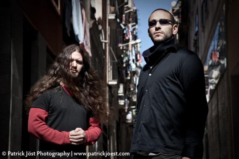 Producer Eli Kimmerling (r.) and guitarist Yonatan Birenbaum (l.).