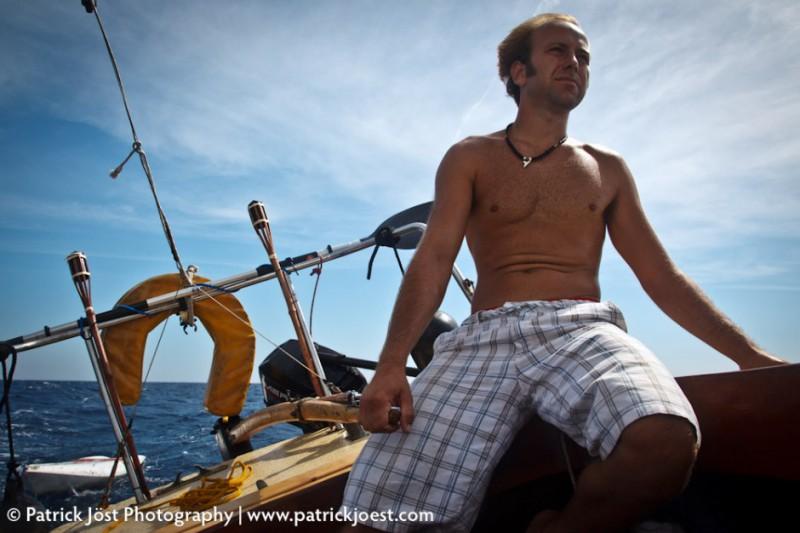 Sailing with Tony
