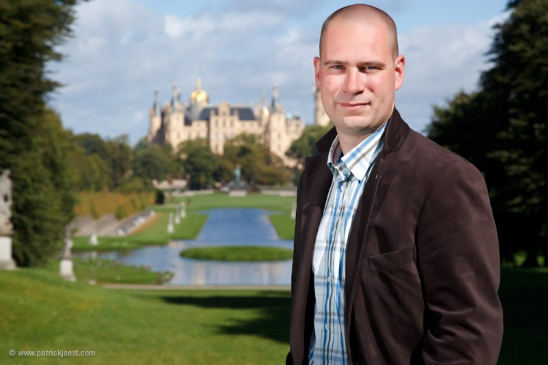 Christoph Kümmritz at Schwerin Castle