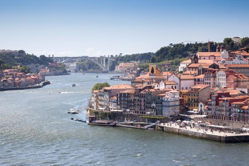 View on Porto and Rio Douro