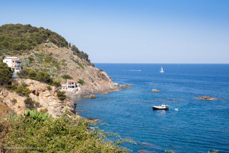 Cove closeby Palamós, Costa Brava