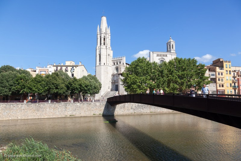 Bridges and River in Girona
