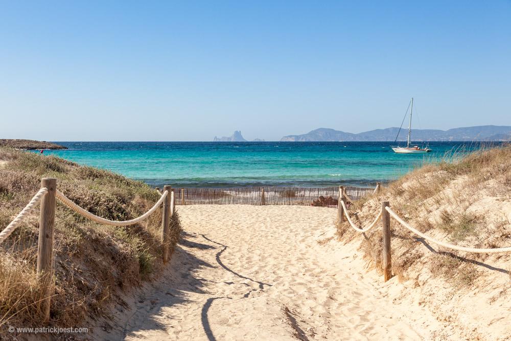 Playa Illetes, Formentera